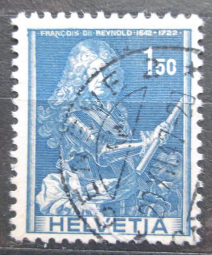 Poštovní známka Švýcarsko 1941 Francois de Reynold Mi# 384