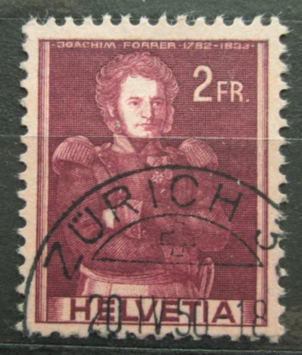 Poštovní známka Švýcarsko 1941 Joachim Forrer Mi# 385