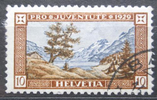 Poštovní známka Švýcarsko 1929 Hora Titlis Mi# 236