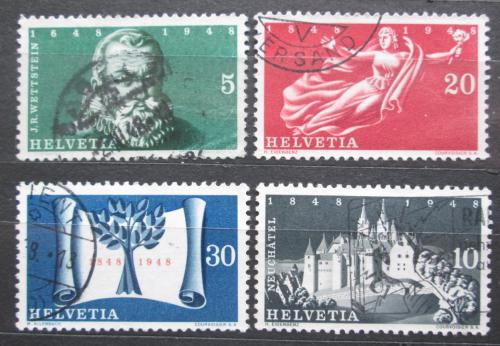 Poštovní známky Švýcarsko 1948 Výroèí Mi# 496-99