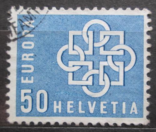 Poštovní známka Švýcarsko 1959  Evropská jednota Mi# 680