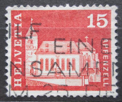 Poštovní známka Švýcarsko 1968 Kostel v Appenzell Mi# 880