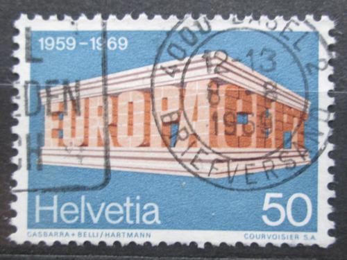 Poštovní známka Švýcarsko 1969 Evropa CEPT Mi# 901