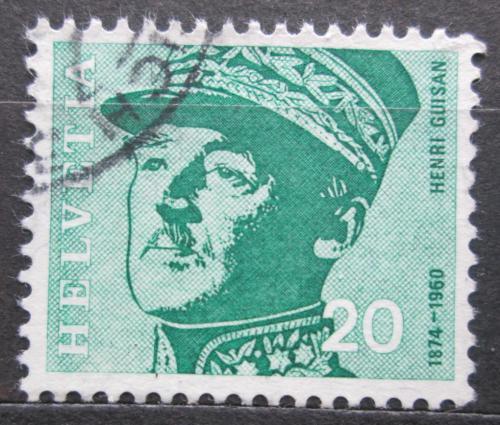 Poštovní známka Švýcarsko 1969 Generál Henri Guisan Mi# 907