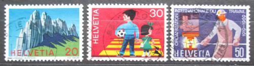 Poštovní známky Švýcarsko 1969 Výroèí a události Mi# 911-13