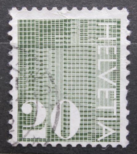 Poštovní známka Švýcarsko 1970 Nominální hodnota Mi# 934