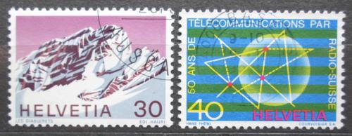 Poštovní známky Švýcarsko 1971 Výroèí a události Mi# 953-54