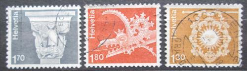 Poštovní známky Švýcarsko 1973 Architektura Mi# 991-93