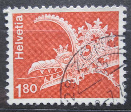 Poštovní známka Švýcarsko 1973 Architektura Mi# 993
