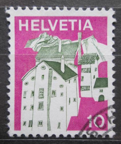 Poštovní známka Švýcarsko 1973 Graubünden Mi# 1004