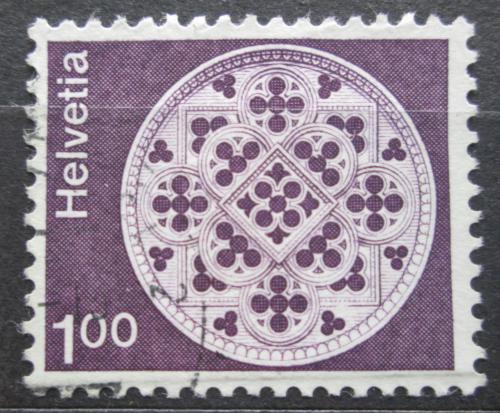 Poštovní známka Švýcarsko 1974 Architektura Mi# 1035 v