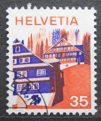 Poštovní známka Švýcarsko 1975 Architektura, Innerschweiz Mi# 1067
