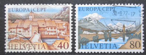 Poštovní známky Švýcarsko 1977 Evropa CEPT Mi# 1094-95