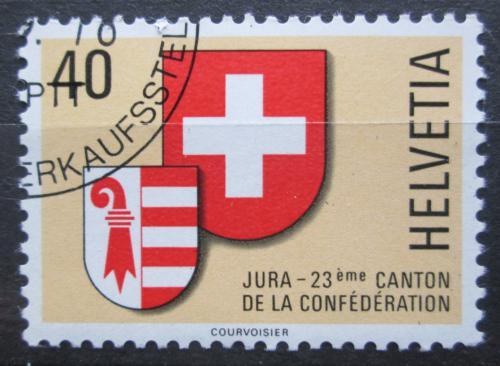 Poštovní známka Švýcarsko 1978 Znaky kantonù Mi# 1141