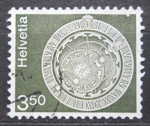 Poštovní známka Švýcarsko 1980 Astronomické hodiny Mi# 1169