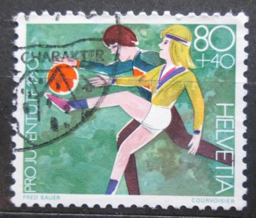 Poštovní známka Švýcarsko 1990 Dìtské hry Mi# 1433