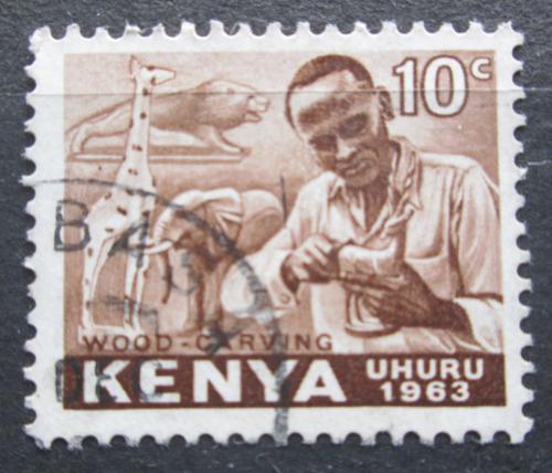Poštovní známka Keòa 1963 Øezbáø Mi# 2