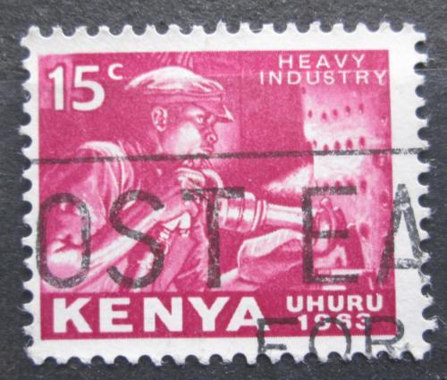 Poštovní známka Keòa 1963 Horník Mi# 3