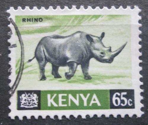 Poštovní známka Keòa 1966 Nosorožec dvourohý Mi# 27