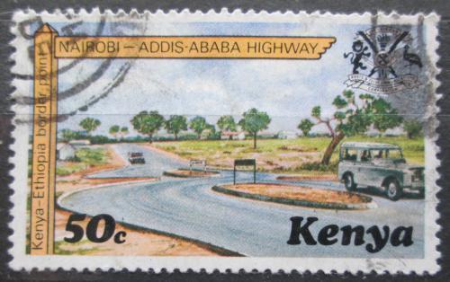 Poštovní známka Keòa 1977 Silnice do Etiopie Mi# 92