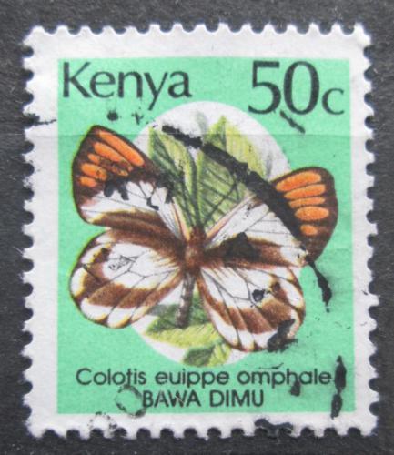Poštovní známka Keòa 1988 Colotis euippe, motýl Mi# 417