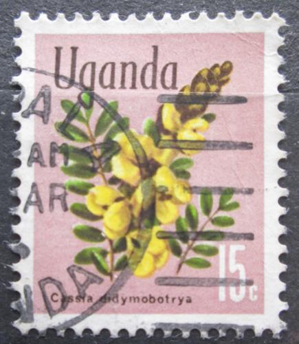 Poštovní známka Uganda 1969 Cassia didymobotrya Mi# 107