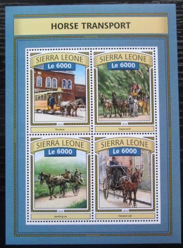Poštovní známky Sierra Leone 2016 Koòská spøežení Mi# 7848-51 Kat 11€