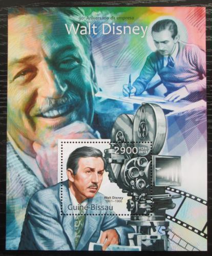 Poštovní známka Guinea-Bissau 2013 Walt Disney Mi# Block 1127 Kat 12€