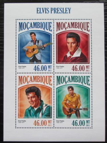 Poštovní známky Mosambik 2013 Elvis Presley Mi# 6917-20 Kat 11€
