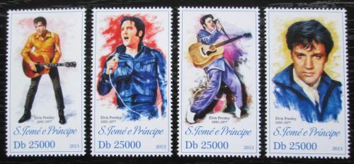 Poštovní známky Svatý Tomáš 2013 Elvis Presley Mi# 5246-49 Kat 10€