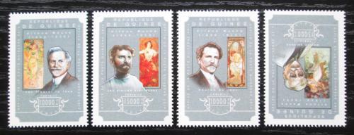Poštovní známky Guinea 2014 Umìní, Alfons Mucha Mi# 10822-25 Kat 20€