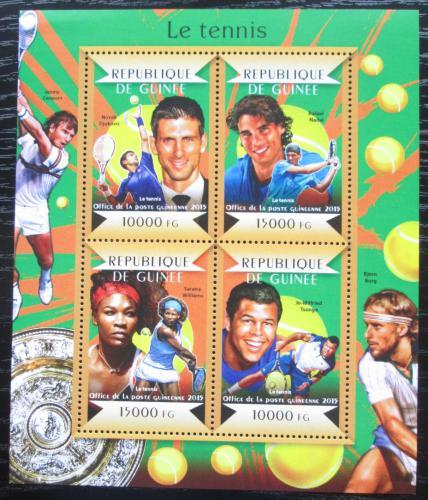 Poštovní známky Guinea 2015 Slavní tenisti Mi# 10982-85 Kat 20€