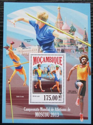 Poštovní známka Mosambik 2013 MS v lehké atletice Mi# Block 855 Kat 10€