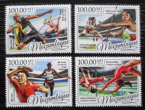 Poštovní známky Mosambik 2016 LOH Rio de Janeiro Mi# 8864-67 Kat 22€