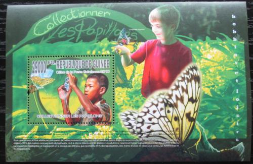 Poštovní známka Guinea 2010 Motýli Mi# Block 1825 Kat 10€