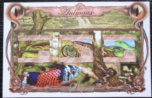 Poštovní známky Guinea 2013 Hadi Mi# 9817-19 Kat 20€