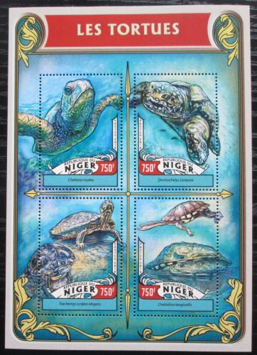 Poštovní známky Niger 2016 Želvy Mi# 4232-35 Kat 12€
