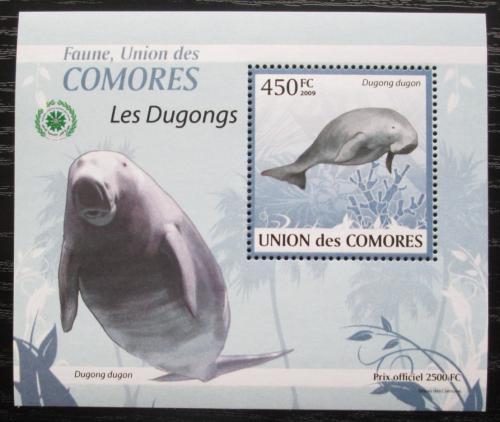 Poštovní známka Komory 2009 Dugong DELUXE Mi# 2441 Block