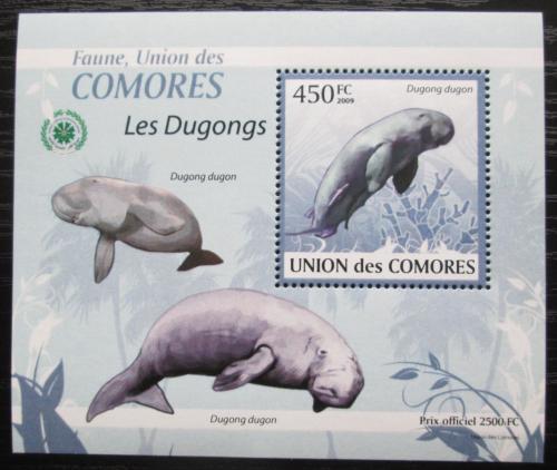 Poštovní známka Komory 2009 Dugong DELUXE Mi# 2443 Block