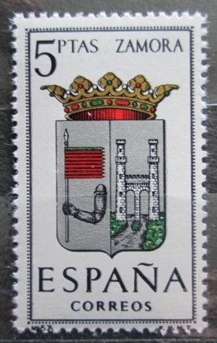 Poštovní známka Španìlsko 1966 Znak Zamora Mi# 1621