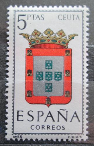 Poštovní známka Španìlsko 1966 Znak Ceuta Mi# 1625