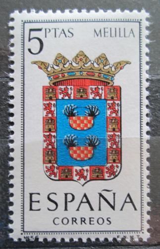 Poštovní známka Španìlsko 1966 Znak Melilla Mi# 1626