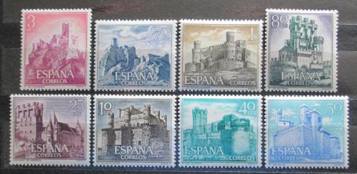 Poštovní známky Španìlsko 1966 Hrady Mi# 1627-34