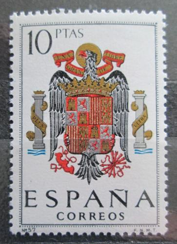 Poštovní známka Španìlsko 1966 Státní znak Mi# 1641