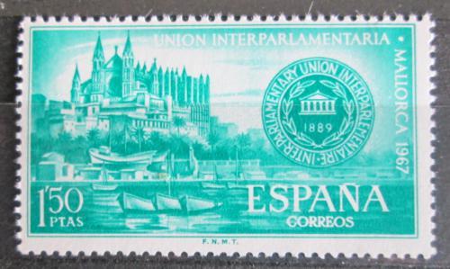 Poštovní známka Španìlsko 1967 Katedrála Palma de Mallorca Mi# 1675
