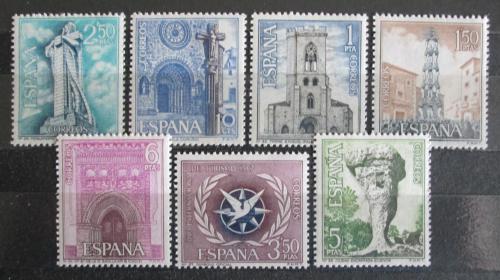 Poštovní známky Španìlsko 1967 Pamìtihodnosti Mi# 1692-98