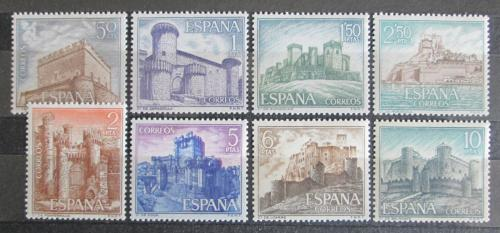 Poštovní známky Španìlsko 1967 Hrady Mi# 1699-1706