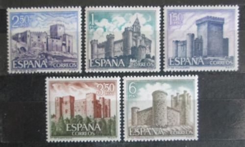 Poštovní známky Španìlsko 1969 Hrady Mi# 1816-20