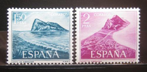 Poštovní známky Španìlsko 1969 Gibraltar Mi# 1823-24