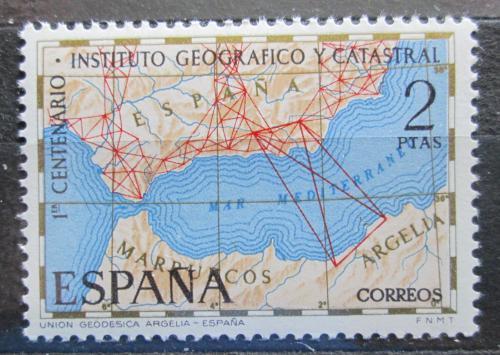 Poštovní známka Španìlsko 1970 Mapa Mi# 1894
